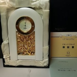 Mikimoto Pearl Desk Table Clock